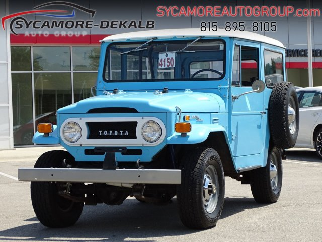 Pre-Owned 1971 Toyota FJ Land Cruier