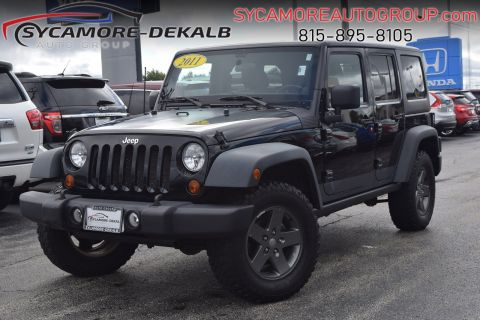 Pre-Owned 2011 Jeep Wrangler Unlimited Rubicon